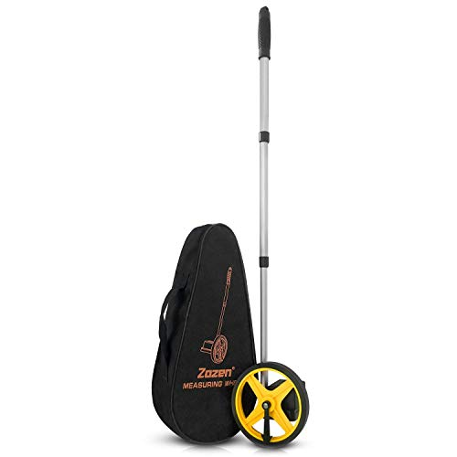 Measuring Wheel Zozen Collapsible Measuring Wheel 6-Inch with Starting Point Arrow