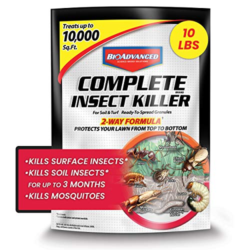 BOADVANCED 700288S Complete Insect Killer for Soil & Turf Pest Control, Ready-to-Spread Granules, 10 lb