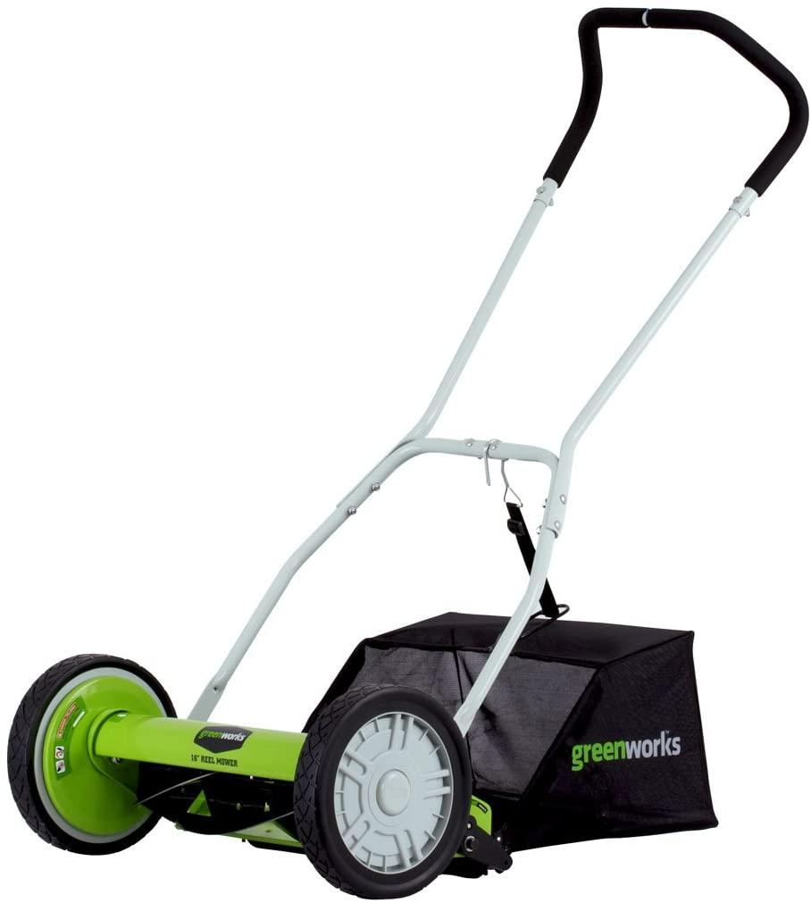 Greenwork reel mower for bermuda