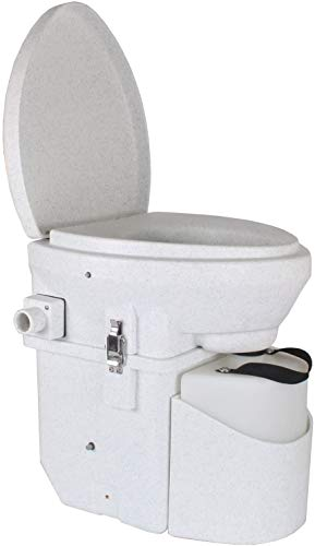Self-contained Toilet by Nature's Head for outdoor bathroom shed
