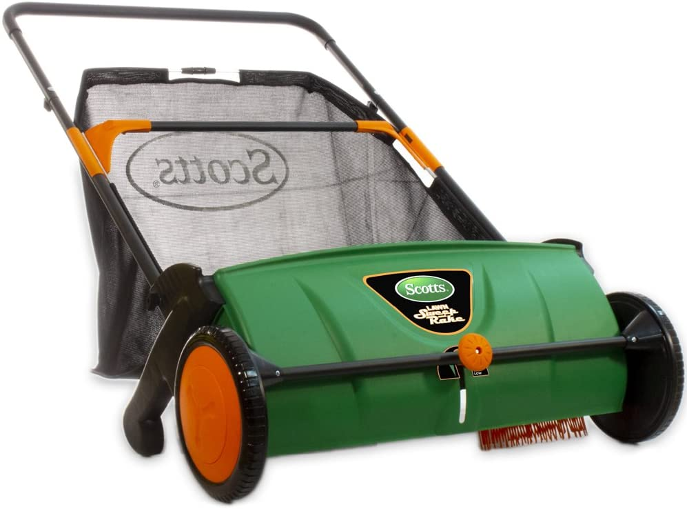 Lawn sweeper for acorns