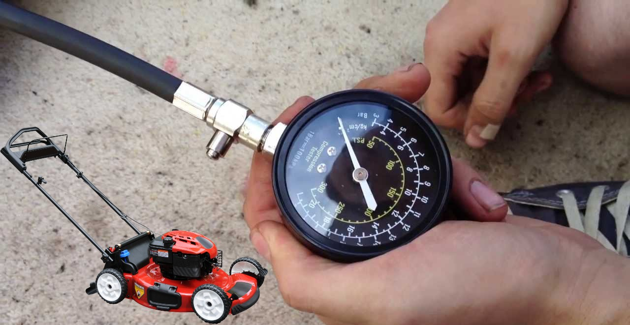 How to fix low compression on lawn mower